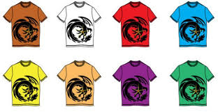 t shirt design on template vector free download