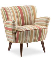 Navy Blue Accent Chair Chairs Aaron Reclining Accent Chair Striped With Arms Design And