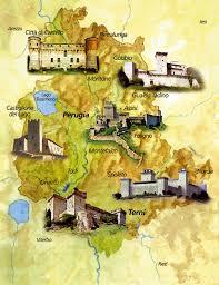 map of perugia umbria umbria italy italia and umbria italy