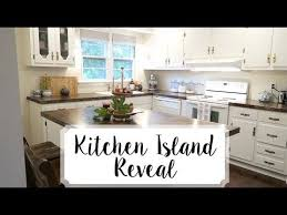 kitchen island makeover fall u002717 tour youtube