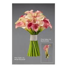 pink calla pink calla bouquet aberdeen flowers