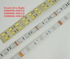 5050 smd 300 led strip light rgb the comparison between smd 3528 and smd 5050 led strip lights