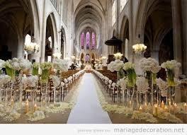 decoration eglise pour mariage décoration d une église style gotique pour un mariage décoration