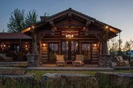 Outdoor Lighting Patio Installing Rustic Outdoor Lighting On Log Cabin Home Ideas