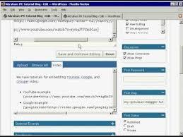 tutorial wordpress blog wordpress com step by step tutorial on how to blog youtube