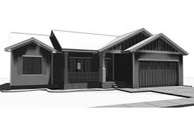 split bedroom starter home plan 62645dj architectural designs
