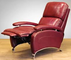 real leather swivel recliner chairs red leather recliner chair modern chairs design