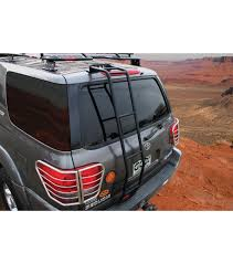 Toyota Tacoma Double Cab Roof Rack by Toyota Sequoia 01 07 Stealth Rack Multi Light Setup With