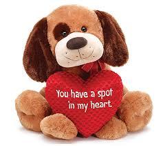 valentines day stuffed animals day plush toys pug dog stuffed dog