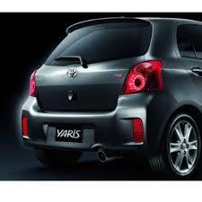 toyota yaris emblem for toyota vios yaris hatchback 2006 2016 rs rear emblem oem decal
