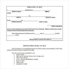 bill of sale template sample for purchasing boat helloalive