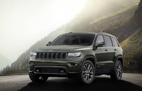 light green jeep cherokee 2016 jeep grand cherokee 75th anniversary edition news and information