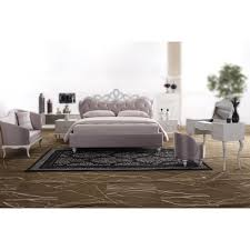Modern Tufted Headboard by Contemporary U0026 Luxury Furniture Living Room Bedroom La Furniture
