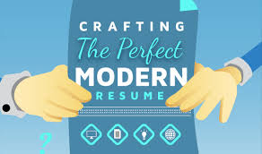 How To Make A Simple Job Resume by Crafting A Perfect Modern Resume