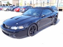 2004 Mustang Cobra Black Ford Mustang Svt Cobra In Illinois For Sale Used Cars On