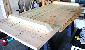 how to build a table top how to build a rustic dining room table top supports making a rustic