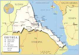 African Countries Map Political Map Of Eritrea Nations Online Project