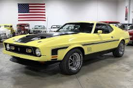 mustang 429 cobra jet 1971 ford mustang gr auto gallery