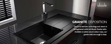 granite kitchen sinks uk kitchen sinks from abode