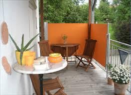 seitenschutz balkon windschutz gestaltung fuer den balkon windschutz