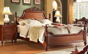 luxury royal solid wood bedroom furniture classic beautiful