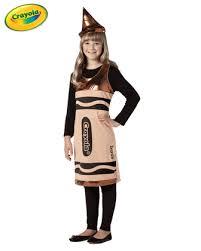Crayon Halloween Costume Tween Bronze Crayola Costume Crayon Costumes Crayola Costumes
