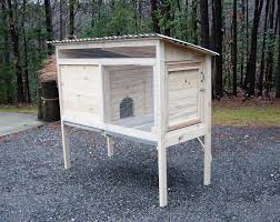 Build A Hutch How To Build A 5 Ft Rabbit Hutch Diy Wood Plans