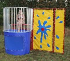 dunk booth rental carnival dunk tank rental in morris county nj