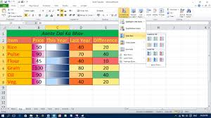 use of data bars and color scales in excel youtube