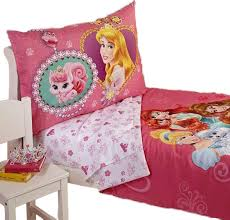 Toddler Comforter Disney Palace Pets Toddler Bedding Set Jewels Ribbons Bed