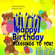 happy birthday free card for boy or blessings to you