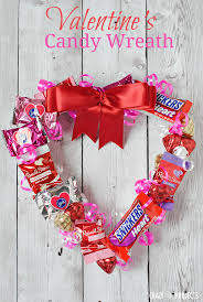candy valentines s candy wreath projects