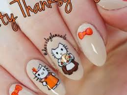 28 thanksgiving nail designs tutorials nails pix
