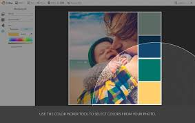 use your color palette with picmonkey u0027s design templates picmonkey