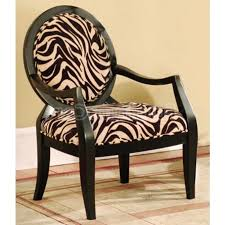 Zebra Accent Chair Inspired Zebra Print Furniture Interior Decorations