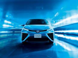 hydrogen fuel cell car toyota mirai photo gallery
