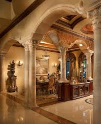 carved wood room divider lichi trend miami mediterranean dining room image ideas with
