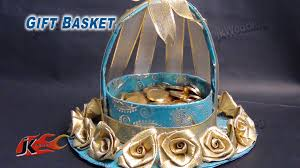 wedding gift basket ideas diy wedding gift basket how to make jk wedding craft 013