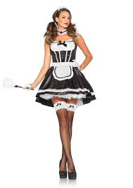 matching halloween costumes for women feather duster for french maid costume masquerade express