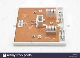 bt uk telephone wall socket wall plate connection box british