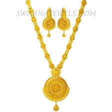 gold long necklace images Splendid gold long necklace set wgns79 jpg