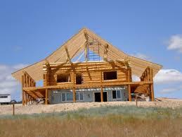Dormer Building Log Dormer Construction Anderson Log Cabin Fever Log Home