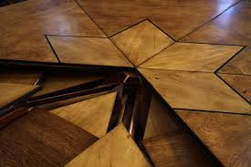 Expandable Table by Solid Walnut Round Arts And Crafts Expandable Dining Room Table