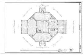 Octagon Home Plans Poplar Forest Unique Octagon Brick Country House Plan By Thomas