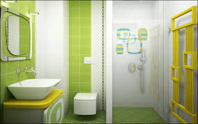 Kids Bathroom Tile Ideas Bathroom Combine Trendy Green Sets Favorite And White Kids