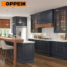 blue kitchen cabinets item oppein traditional thermofoil navy blue kitchen cabinets