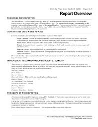 roof inspection report template best photos of a sle of report business report letter sle