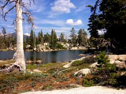 Desolation Wilderness Map Peachy Hiker Mcconnell Lake Loop Primitive Trail In