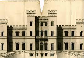 architect u0027s plan of loudoun castle 1805