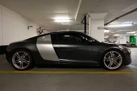 Audi R8 Grey - daytona gray audi r8 1 madwhips